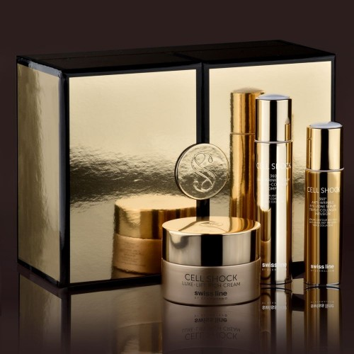 Gold & Silk Holiday Gift Set