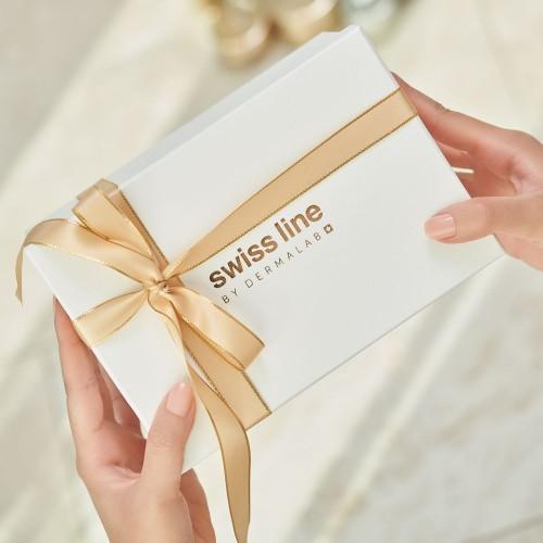 Signature gift box with handwritten gift note