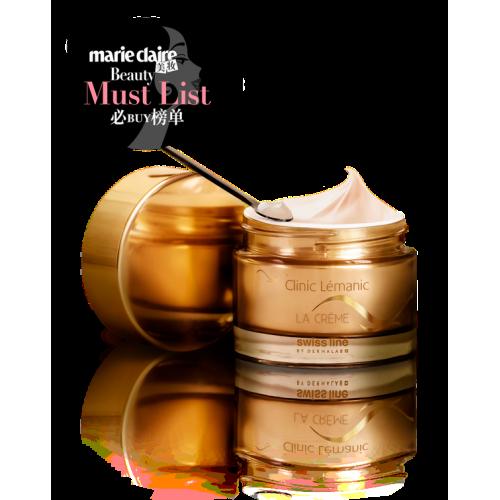 Award-Winning Anti-Wrinkle Cream with Plant Stem Cells Swissline CLINIC LÉMANIC LA CRÈME