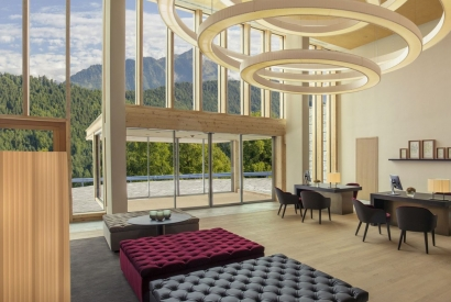 Swissline partners with Switzerland's newest luxury resort